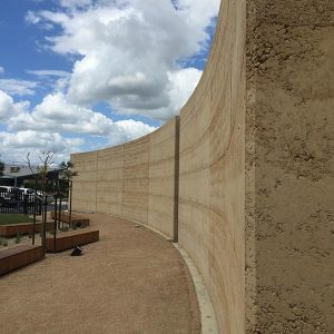 Rammed earth builders - project in Berwick, Melbourne, Australia