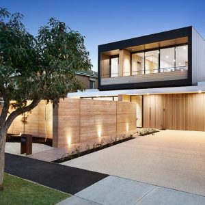 East Brighton, Melbourne, rammed earth project