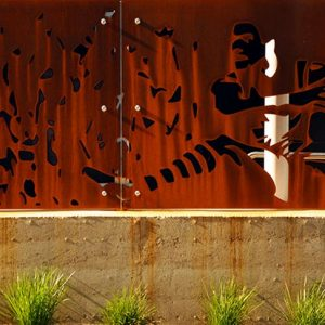 Sydney Cricket Ground rammed earth project