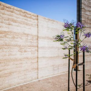 SFXC Berwick rammed earth project