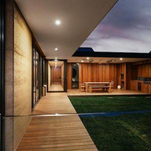 Sandringham rammed earth project, Melbourne