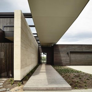 Wolveridge, Portsea rammed earth project